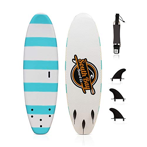 South Bay Board Co. 6' Beginner Foam Surfboard