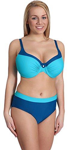 Merry Style Conjunto Bikini Sujetador y Bragas Bañador 2 Piezas Mujer P190-65TSG (Patrón-4, EU(Top 100 B / 48)=ES(115B/50))