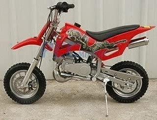 49cc 50cc Red 2-Stroke Gas Motorized Mini Dirt Pit Bike