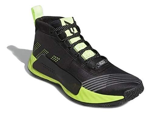 adidas Hombre Dame 5 - Star Wars Zapatillas de Baloncesto Negro, 50