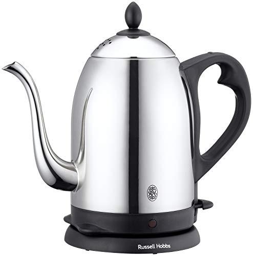 ラッセルホブス 電気ケトル コーヒー ステンレス ドリップ ポット 細口 1.2L 7412JP
