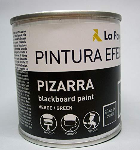 La Pajarita Pintura Efecto Pizarra, 250ML, Verde, Estandar