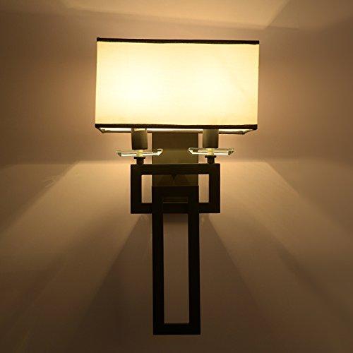 VanMe Chevet De Lampe Murale Couloir Chinois Crystal Lampe Chambre Villa Allée Mur Murale 28 * 50Cm
