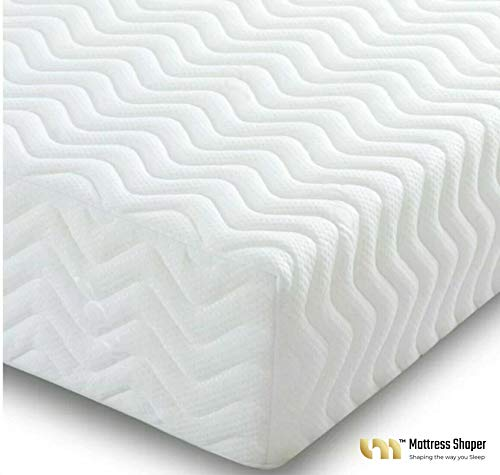 MEMORY FOAM MattressShaper ORTHOPEDIC MATTRESS 2FT 6IN SMALL SINGLE Thickness 10' SUPER QUILTED 7 Sense Made in the UK. Anti-bacterial, Anti-allergy properties. Medium firm (9+1).