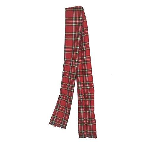 4ft Red Tartan Sash Hand Made Scottish Sash's Burns Night Fancy Dress[Red (Royal Stewart)]