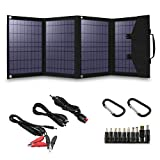 60W Foldable Solar Panel Solar Charger Portable Solar Panel for Suaoki/Enkeeo/Goal Zero...
