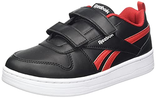 Reebok Royal Prime 2.0 2V, Zapatillas Deportivas, Negro/Negro/VECRED, 34 EU