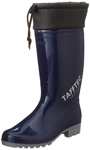 [アキレス] レインブーツ 長靴 日本製 耐油 履き口カバー 2E ユニセックス OGB 0025 ネイビー 24.0 cm