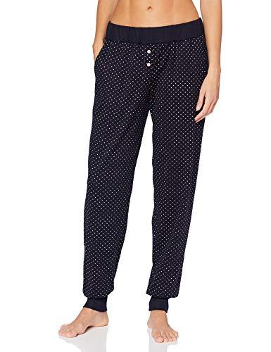Calida Damen Favourites Dreams Hose mit Bündchen Pyjamaunterteil, Dark Lapis Blue, Dark Lapis Blue, L