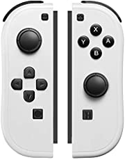 Joy-Pad Controller Compatible with Switch Joycons with Wrist Strap, Switch Controller Supports Wake-up Function