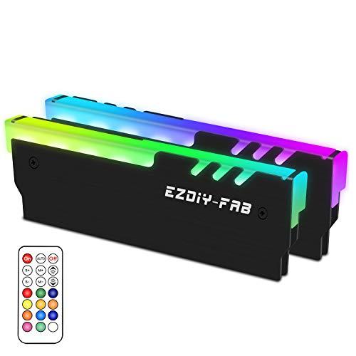 EZDIY-FAB RGB Memoria Direccionable RAM Refrigerador DDR Dis
