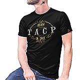 TACP Death on Call Tactical Air Force ISAF 30023 - Reloj de pulsera con control de aire Negro M