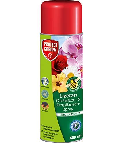 PROTECT GARDEN Lizetan Orchideen-und Zierpflanzenspray (ehem. Bayer Garten) gegen eine Vielzahl an saugenden Schädlingen, 400 ml