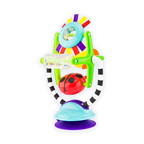 Sassy Sensation Station 2-in-1 Suction Cup High Chair Toy | Developmental Tray Toy for Early Learning | for Ages 6 Months and Up (80020)