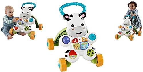 Mattel Flitterbytes Lern mit mir Zebra Lauflernwagen