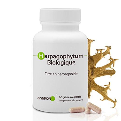 HARPAGOPHYTUM ECOLÓGICO * 400 mg / 60 cápsulas * Antiinflamatorios, Articulaciones (inflamación), Digestión * Garantía de satisfacción o reembolso * Fabricado en Francia