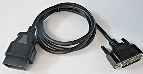 Xpertx Solutions OBD2 OBDII Cable Fits Innova Equus Diagnostic Scan Tool Various Model Scanners Aftermarket Replacement