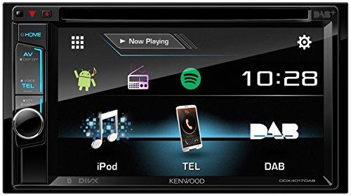 Kenwood DDX4017DAB 15,7 cm Doppel-DIN-VGA-Monitor mit Bluetooth-Modul und Digitalradio schwarz