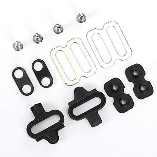 Keenso Set di tacchette per Accessori Mountain Bike , Accessori per Bici Accessori per Pedali SPD PD-M520 M540 M324 M545 M424 M647 M959