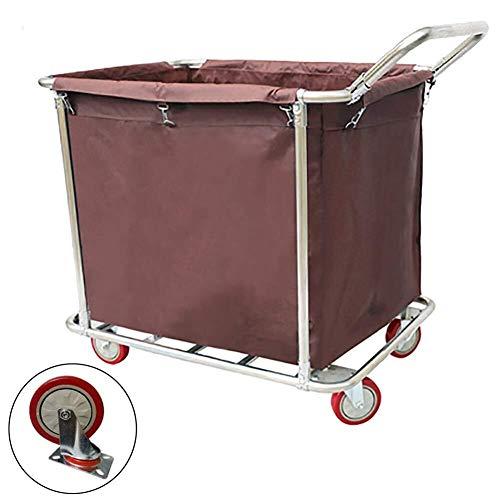 Wasserij sorteren car Commercial Laundry Center Sorter Kar met handvat, Heavy Duty Rolling wasmand Trolley op wielen Dienst rolwagen (Size : Style-2)