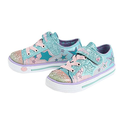 Skechers Infants' Twinkle Toes Enchanters Light Up Sneaker Multi 10 M US