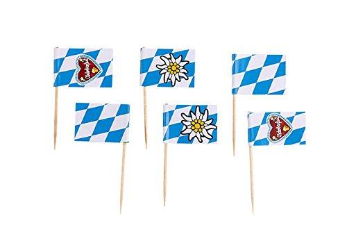 amscan–998402–30Stachelreihe Flaggen Oktoberfest,
