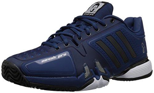 adidas Men's Novak pro Tennis Shoe, Real Blue/core Black/White, 11 M US