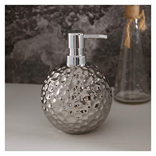 OMYLFQ Dispensadores de loción Lotion Bottle Creative Simple Fashion Hotel Black Soap Dispenser Sub-Pack Ceramic Soap Dispenser Press Dispensadores de jabón