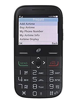 Alcatel Big Easy Plus Prepaid Phone with 800 Minutes and One Year of Tracfone Service + Double Minutes