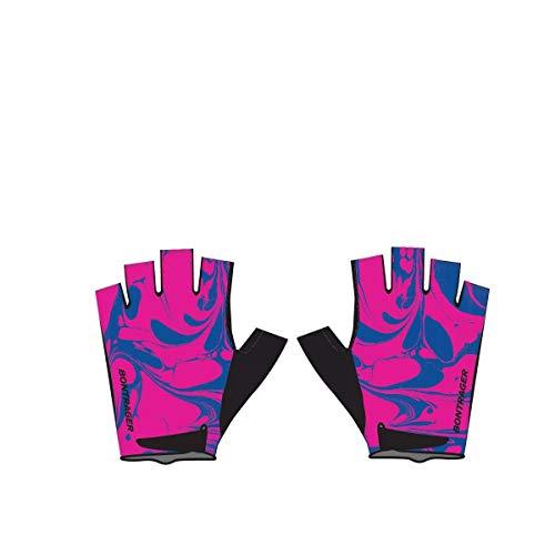Bontrager Kids Kinder Fahrrad Handschuhe kurz pink/blau 2020: Größe: S/M (4-6 Jahre)
