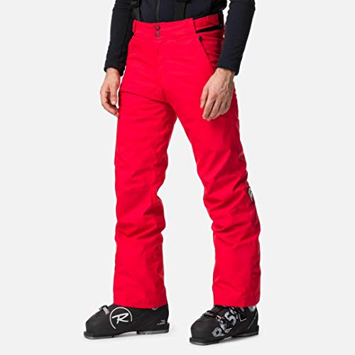 Rossignol Herren Ski Pant Skihose, Sport, Rot, L