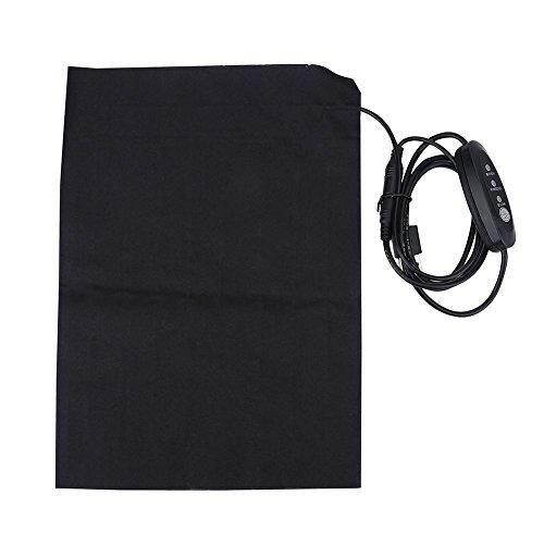 Filfeel Almohadilla térmica para Ropa, 5V 2A Ligero USB eléctrico Accesorio para climatizada para Exteriores e Interiores y para Acampar