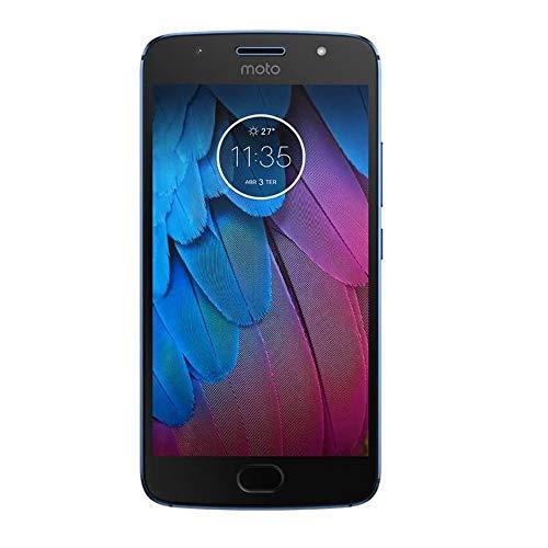 Smartphone Motorola Moto G5s Plus 64gb 4gb Ram Lte 5.5 Câm.13mp/13mp+8mp- Azul