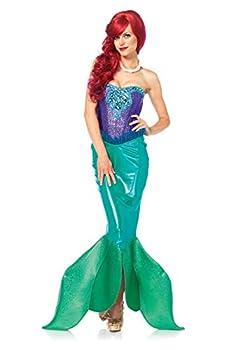 Leg Avenue Women s Deep Sea Siren Green Medium