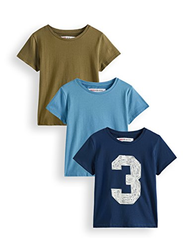 RED WAGON Jungen T-Shirt Akb-011-2, Mehrfarbig (Multicoloured), 128, Label:8 Years
