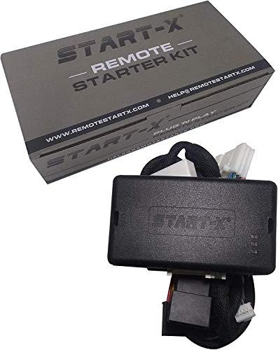 Start-X Plug N Play Remote Start Starter for Select Push to Start Toyota's|| Rav4 2013-2018 Avalon 2013-2018, Camry 2012-2017, Corolla 2014-2019 || Push to Start Only || Lock 3X to Remote Start