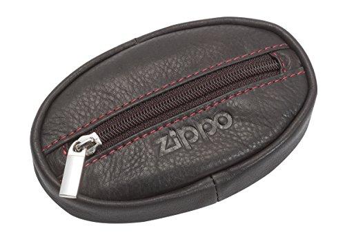 Zippo Herren Leder Geldbörse Gepäck- Handgepäck, Braun (Mokka), 2x6.2x10.5 cm