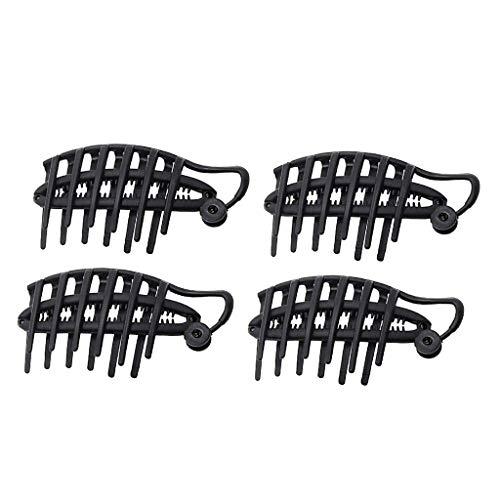 P Prettyia 4x Frauen DIY Schnelle Haar Twist Maker Moderne Hochsteckfrisur Pony Pouf Volume Boost Comb