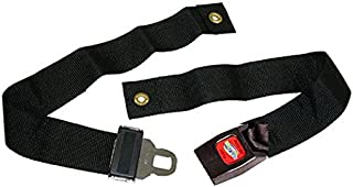 HEALTHLINE Wheelchair Strap Seat Belt, Wheelchair Safety Harness, Auto Style Belt with Metal Buckle up to 48