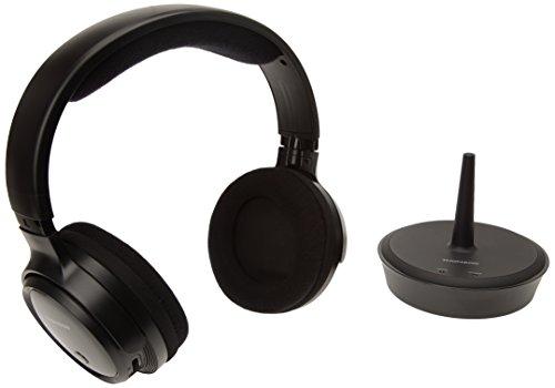Thomson WHP 3203 PLL Schwarz Ohraufliegend Kopfband - Kopfhörer (Ohraufliegend, Kopfband, Verkabelt & Kabellos, 40-12000 Hz, 106 dB, Schwarz)