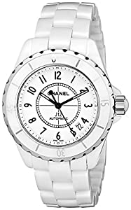 Chanel Women's H0970 J12 White Ceramic Bracelet Watch image