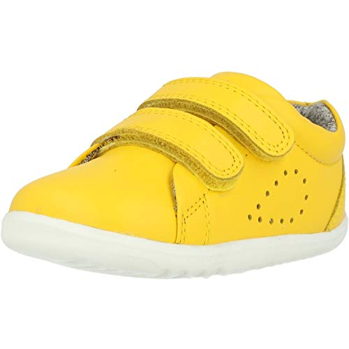 Bobux Step Up Grass Court Gelb (Lemon) Leder 19 EU
