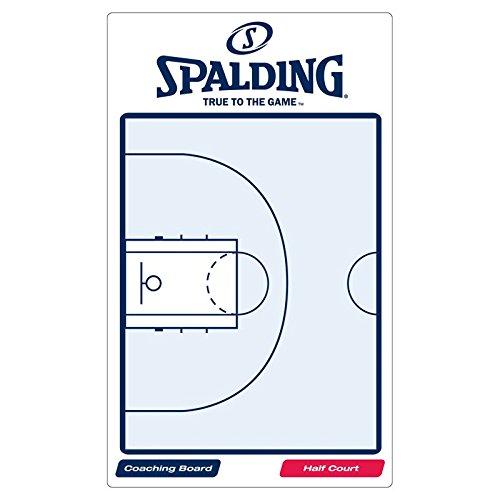 Spalding Taktik Tafel Board, weiß/blau, One Size