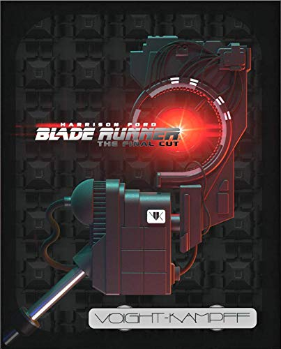 Blade Runner: The Final Cut 4K Ultra HD– Titans of Cult Steelbook [2019] /Import / Includes Blu Ray [Region Free]