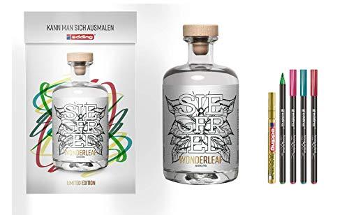 Siegfried Wonderleaf | Alkoholfrei | Edding-Edition | Von den Machern des weltweit prämierten Siegfried Gin | Vegan | Zuckerfrei | 18 Botanicals | 500ML