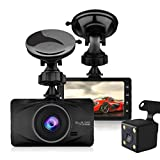 NOVPEAK Dash Cam 1080P DVR Car Driving Recorder 3 Inch Full HD Screen 170° Wide Angle with Night Vision, G-Sensor, WDR, Parking Monitor, Loop Recording, Motion Detection