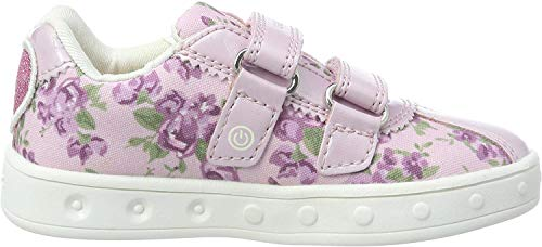 Geox Mädchen J SKYLIN GIRL C Sneaker Pink (Pink/White C0550), 38 EU