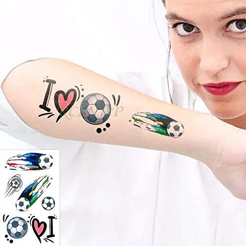 adgkitb 5piezas Impermeable Tatuaje Temporal Pegatina avión avión Globo aerostático Tatuaje Tatuajes Falsos para niños niño Hombres Mujeres Monocromo 10.5x6 cm