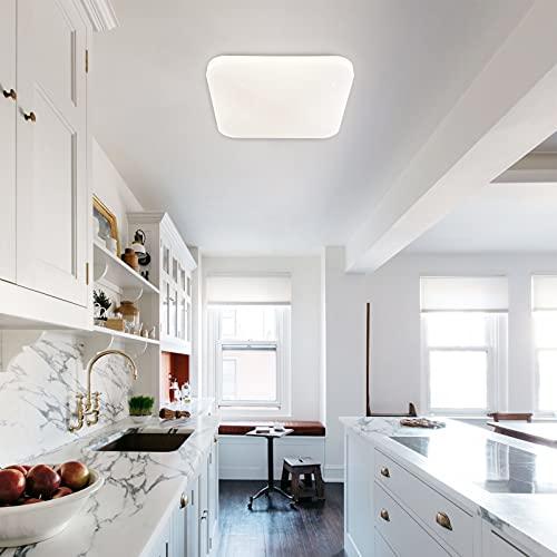 LUSUNT Lámpara de Techo LED Salon Moderna 4000K 2050 LM 26W Luz de Techo, Decoración de Cielo Estrellado Plafón LED para Dormitorio Baño Cocina Comedor Habitación Balcón Pasillo
