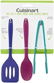 Set of 3 Cuisinart Mini Prep-and-Serve Tools